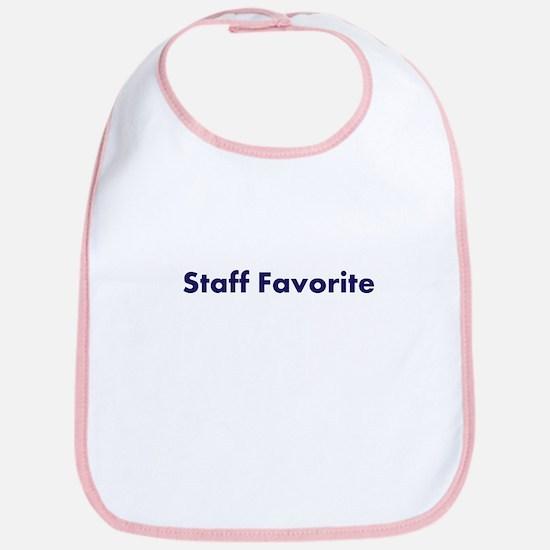 """""""Staff Favorite"""" Bib"""