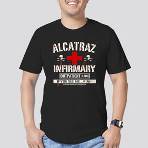 ALCATRAZ INFIRMARY Men's Fitted T-Shirt (dark)
