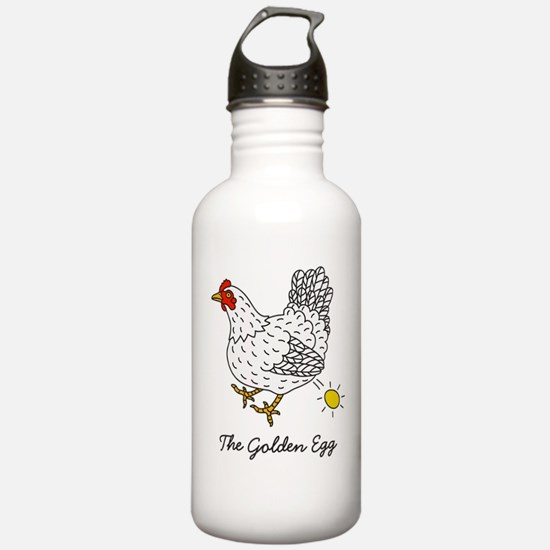 The Chicken That Lays the Golden Eggs Water Bottle