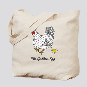 The Chicken That Lays the Golden Eggs Tote Bag
