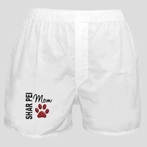 Shar Pei Mom 2 Boxer Shorts