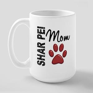 Shar Pei Mom 2 Large Mug