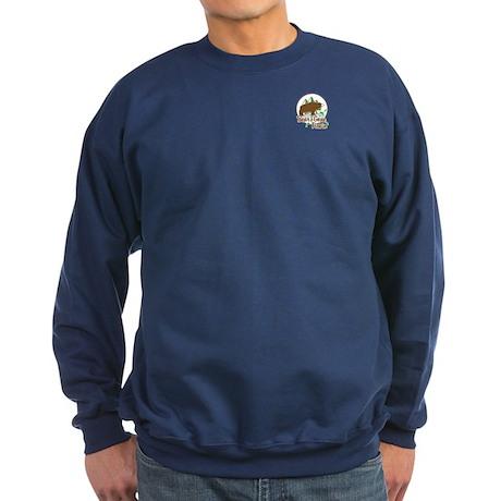 Bear's Gone Fishin' Sweatshirt (dark)