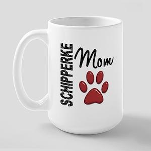 Schipperke Mom 2 Large Mug