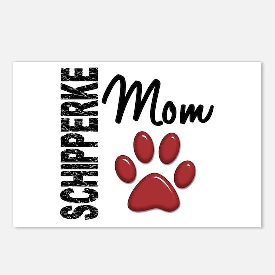 Schipperke Mom 2 Postcards (Package of 8)
