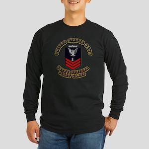 Navy Diver Long Sleeve Dark T-Shirt