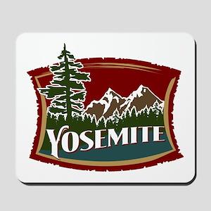 Yosemite Mountains Mousepad