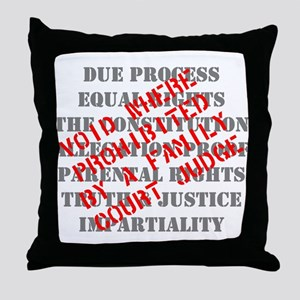 Equal Rights Void Throw Pillow