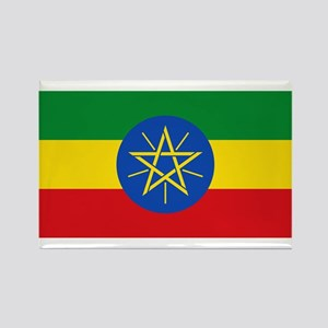 Flag of Ethiopia Rectangle Magnet