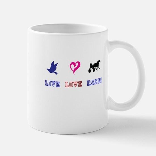 Live Love Race Mug