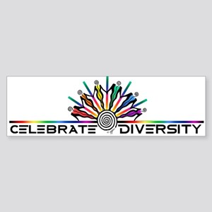Celebrate Diversity Sticker (Bumper)
