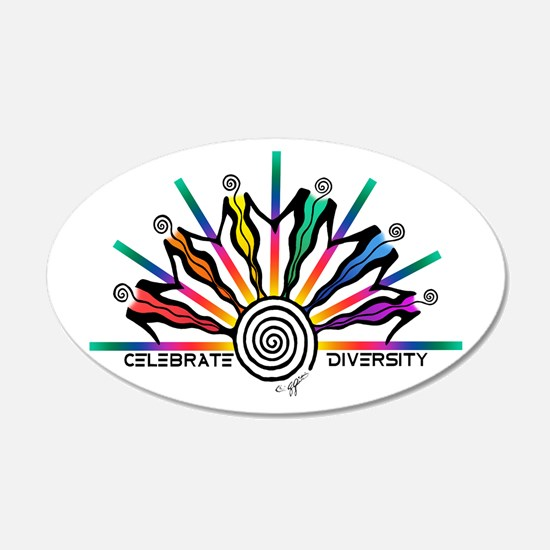 Celebrate Diversity Wall Decal
