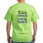 Green Let Him Hear T-Shirt