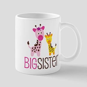 Giraffe Big Sister Mug