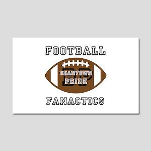 Football Car Magnet 20 x 12