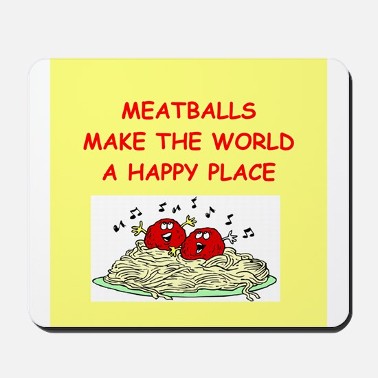meatballs Mousepad