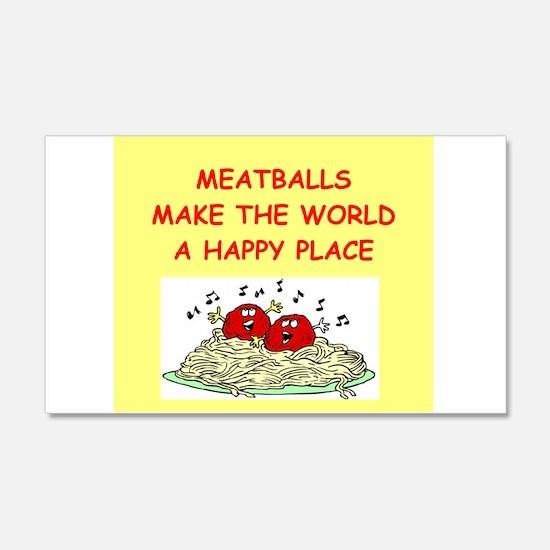 meatballs 22x14 Wall Peel