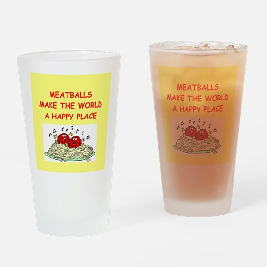 meatballs Drinking Glass