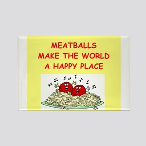 meatballs Rectangle Magnet