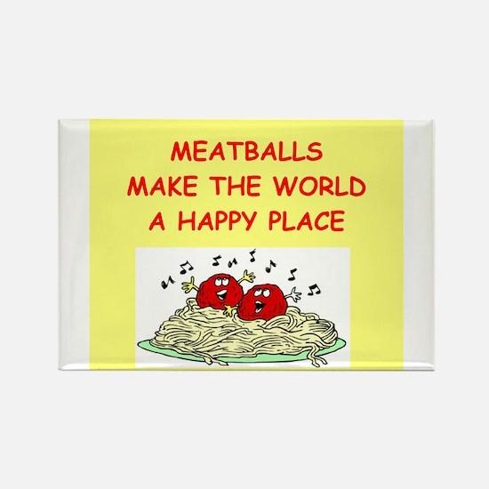 meatballs Rectangle Magnet