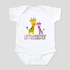 Giraffe Little Sister Infant Bodysuit