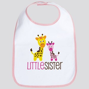 Giraffe Little Sister Bib