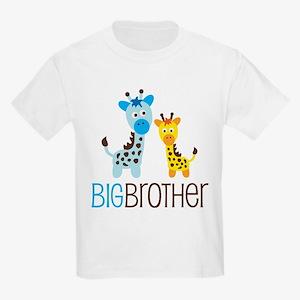 Giraffe Big Brother Kids Light T-Shirt