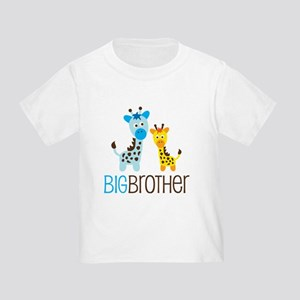 Giraffe Big Brother Toddler T-Shirt