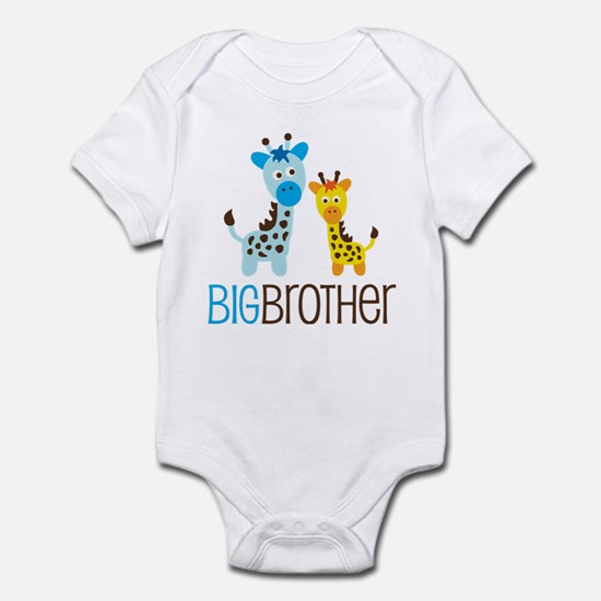 Giraffe Big Brother Infant Bodysuit