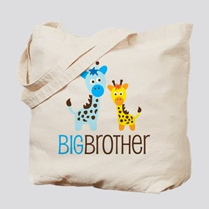 Giraffe Big Brother Tote Bag