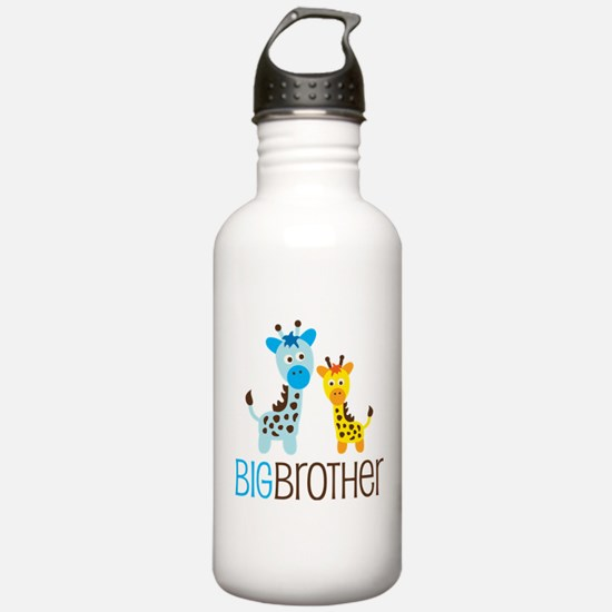 Giraffe Big Brother Sports Water Bottle
