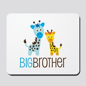 Giraffe Big Brother Mousepad