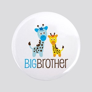 "Giraffe Big Brother 3.5"" Button"