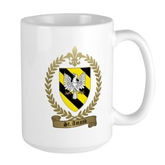 ST. AMAND Family Crest Large Mug