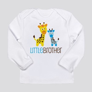 Giraffe Little Brother Long Sleeve Infant T-Shirt