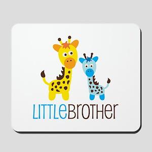 Giraffe Little Brother Mousepad