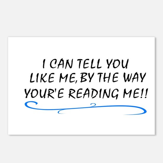 i can tell you like me by the Postcards (Package o