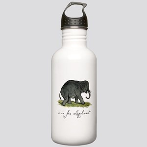 E is for Elephant Stainless Water Bottle 1.0L