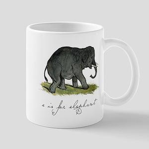 E is for Elephant Mug