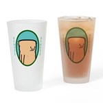 Drinking Glass featuring Scotty