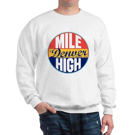 Denver Vintage Label Sweatshirt