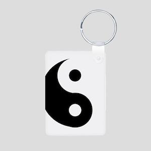 Yin & Yang (Traditional) Aluminum Photo Keychain