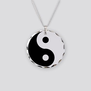 Yin & Yang (Traditional) Necklace Circle Charm