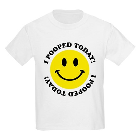 I Pooed Today! Kids Light T-Shirt