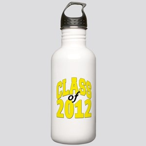 Class of 2012 (yellow) Stainless Water Bottle 1.0L