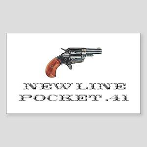 Colt New Line Pocket .41 Sticker (Rectangle)