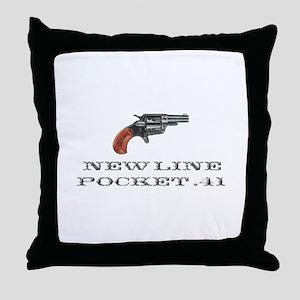 Colt New Line Pocket .41 Throw Pillow