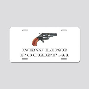 Colt New Line Pocket .41 Aluminum License Plate