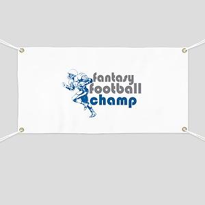 2011 Fantasy Football Champ Banner