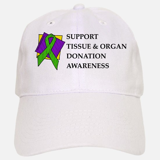 Support Donation Baseball Baseball Cap